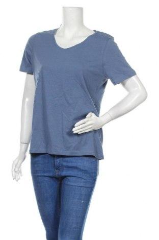 Дамска тениска Blue Motion, Размер L, Цвят Син, 95% памук, 5% еластан, Цена 15,12лв.