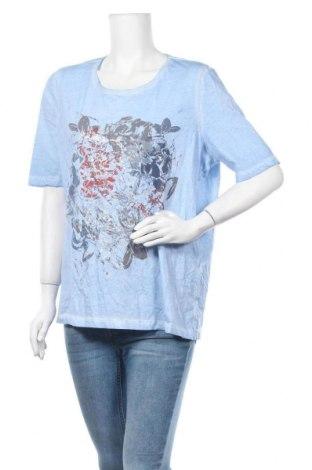 Дамска тениска Bonita, Размер XL, Цвят Син, Памук, Цена 9,45лв.