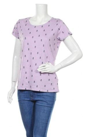 Дамска тениска Boule..., Размер XL, Цвят Лилав, Памук, Цена 17,96лв.