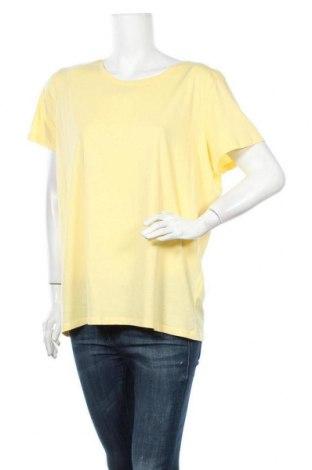 Дамска тениска C&A, Размер XL, Цвят Жълт, Памук, Цена 13,39лв.