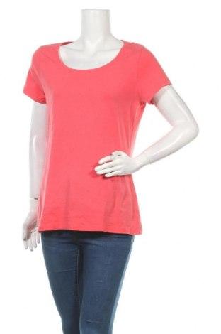 Дамска тениска C&A, Размер L, Цвят Розов, 95% памук, 5% еластан, Цена 9,24лв.