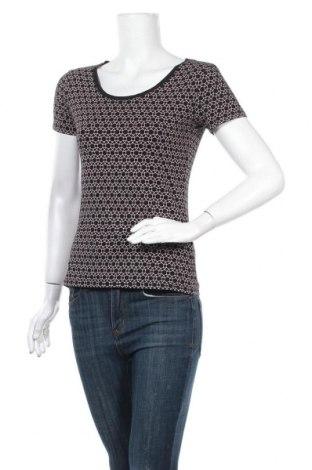 Дамска тениска C&A, Размер S, Цвят Черен, 95% памук, 5% еластан, Цена 15,96лв.