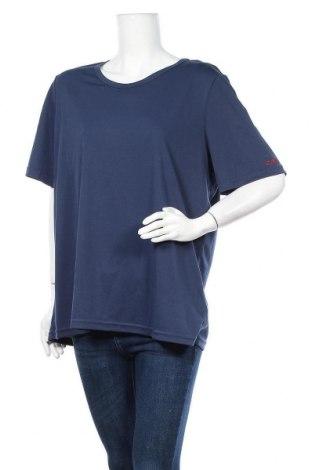 Дамска тениска CMP, Размер XXL, Цвят Син, Полиестер, Цена 13,65лв.