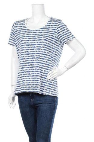 Дамска тениска Charles Vogele, Размер L, Цвят Син, 95% памук, 5% еластан, Цена 16,80лв.