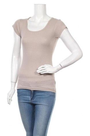 Дамска тениска Chicoree, Размер S, Цвят Бежов, Памук, Цена 7,09лв.