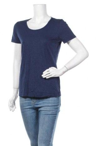 Дамска тениска Chris Line, Размер L, Цвят Син, 94% вискоза, 6% еластан, Цена 16,07лв.