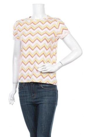 Дамска тениска Clockhouse, Размер XS, Цвят Многоцветен, Памук, Цена 7,56лв.