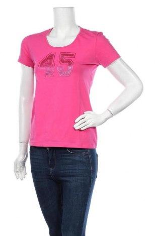 Дамска тениска Club Med, Размер L, Цвят Розов, 95% памук, 5% еластан, Цена 3,68лв.