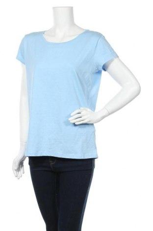 Дамска тениска Colours Of The World, Размер L, Цвят Син, 96% памук, 4% еластан, Цена 14,70лв.