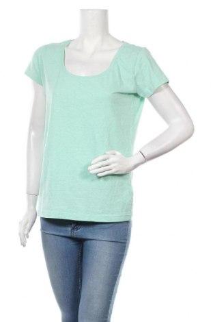 Дамска тениска Colours Of The World, Размер L, Цвят Зелен, 80% памук, 20% полиестер, Цена 14,28лв.