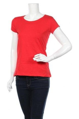 Дамска тениска Colours Of The World, Размер S, Цвят Червен, 96% памук, 4% еластан, Цена 10,71лв.