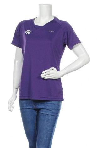 Дамска тениска Craft, Размер L, Цвят Лилав, Полиестер, Цена 13,23лв.