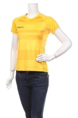 Дамска тениска Craft, Размер XS, Цвят Жълт, Цена 15,12лв.