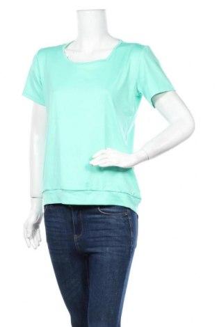 Дамска тениска Crane, Размер M, Цвят Зелен, Полиестер, Цена 4,20лв.
