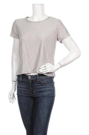 Дамска тениска Crivit, Размер M, Цвят Сив, Полиестер, Цена 11,60лв.