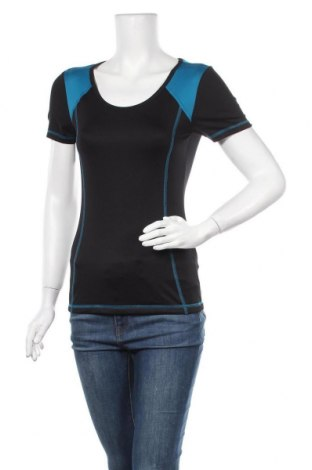 Дамска тениска Crivit, Размер S, Цвят Черен, 88% полиестер, 12% еластан, Цена 13,39лв.