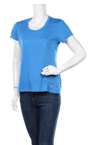 Дамска тениска Crivit, Размер M, Цвят Син, Полиестер, Цена 11,76лв.
