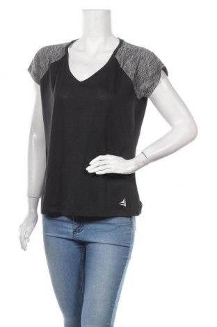 Дамска тениска Crivit, Размер M, Цвят Черен, Цена 4,46лв.