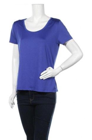 Γυναικείο t-shirt Crivit, Μέγεθος L, Χρώμα Μπλέ, 92% πολυεστέρας, 8% ελαστάνη, Τιμή 5,00€
