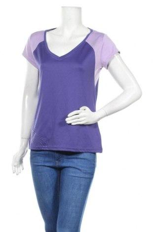 Дамска тениска Crivit, Размер L, Цвят Лилав, Полиестер, Цена 5,88лв.