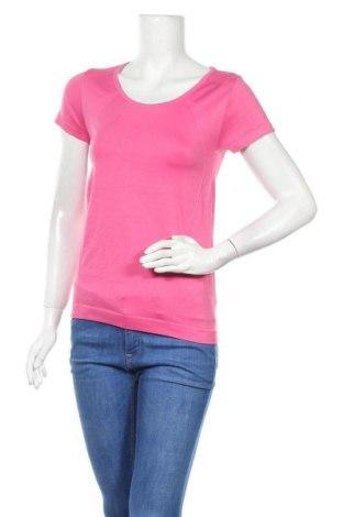 Дамска тениска Crivit, Размер S, Цвят Розов, 57% полиамид, 36% полиестер, 7% еластан, Цена 4,20лв.