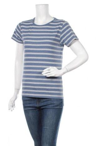 Γυναικείο t-shirt Cubus, Μέγεθος M, Χρώμα Μπλέ, 62% πολυεστέρας, 33% βισκόζη, 5% ελαστάνη, Τιμή 8,64€