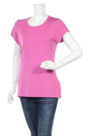 Дамска тениска Elle, Размер L, Цвят Розов, 90% полиестер, 10% еластан, Цена 12,29лв.