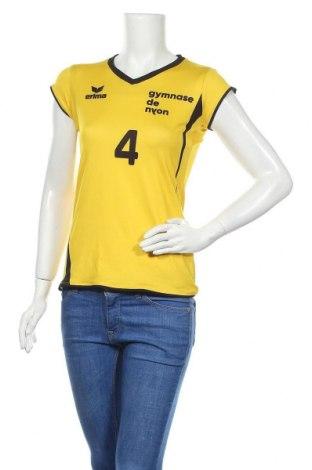 Дамска тениска Erima, Размер S, Цвят Жълт, 92% полиестер, 8% еластан, Цена 4,46лв.