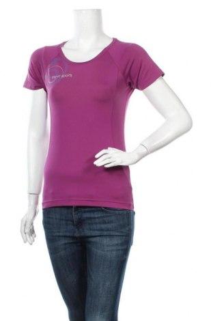 Дамска тениска Esprit Sports, Размер S, Цвят Лилав, 92% полиестер, 8% еластан, Цена 11,76лв.