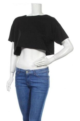 Дамска тениска Even&Odd, Размер M, Цвят Черен, Цена 3,68лв.