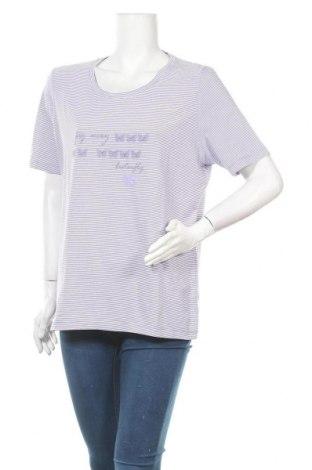 Γυναικείο t-shirt Fabiani, Μέγεθος XL, Χρώμα Βιολετί, 95% βαμβάκι, 5% ελαστάνη, Τιμή 8,28€
