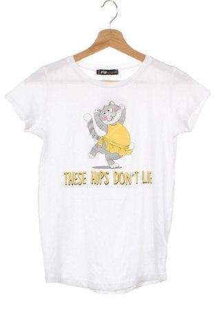 Дамска тениска Fb Sister, Размер XXS, Цвят Бял, Памук, Цена 15,12лв.
