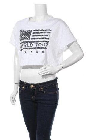 Дамска тениска Fb Sister, Размер L, Цвят Бял, Цена 3,94лв.