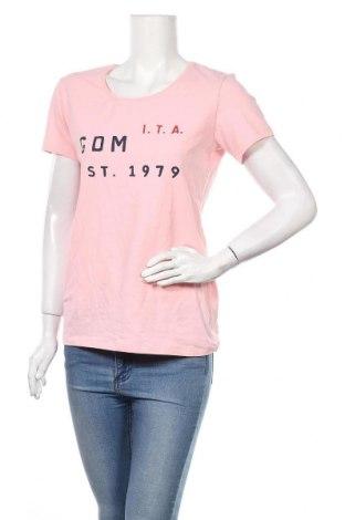 Дамска тениска Giorgio Di Mare, Размер L, Цвят Розов, 95% памук, 5% еластан, Цена 37,54лв.