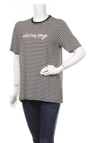 Дамска тениска Golddigga, Размер M, Цвят Черен, 62% полиестер, 33% вискоза, 5% еластан, Цена 14,84лв.