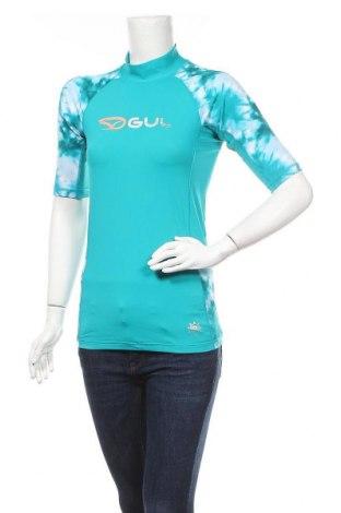 Дамска тениска Gul, Размер M, Цвят Зелен, 82% полиамид, 18% еластан, Цена 41,42лв.