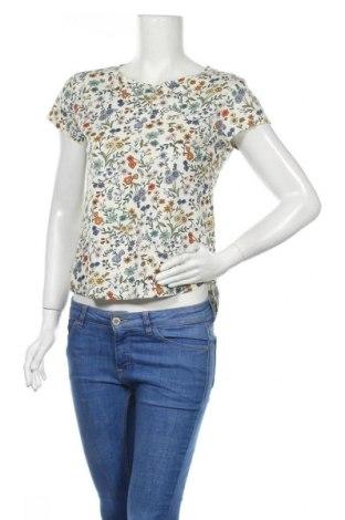 Дамска тениска H&M, Размер XS, Цвят Многоцветен, Памук, Цена 9,24лв.