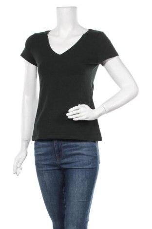 Дамска тениска H&M, Размер M, Цвят Зелен, 95% полиестер, 5% еластан, Цена 5,99лв.