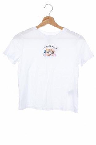 Γυναικείο t-shirt H&M Divided, Μέγεθος XS, Χρώμα Λευκό, Βαμβάκι, Τιμή 12,47€