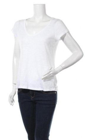 Дамска тениска H&M L.O.G.G., Размер M, Цвят Бял, Цена 16,80лв.