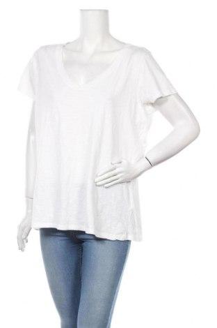 Γυναικείο t-shirt H&M L.O.G.G., Μέγεθος XL, Χρώμα Λευκό, Βαμβάκι, Τιμή 6,75€