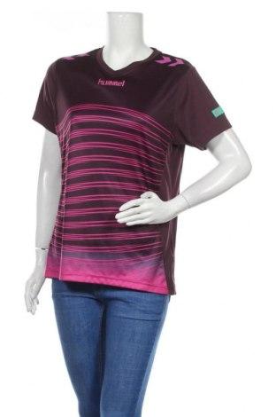 Дамска тениска Hummel, Размер L, Цвят Лилав, Цена 19,85лв.