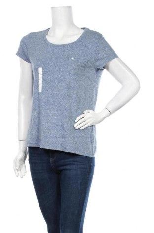 Дамска тениска Jack Wills, Размер M, Цвят Син, 50% полиестер, 38% памук, 12% вискоза, Цена 20,67лв.