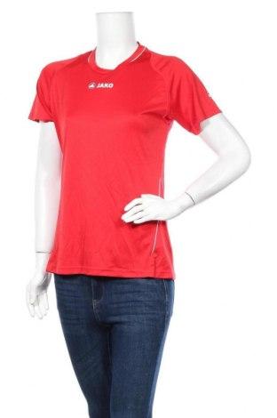 Дамска тениска Jako, Размер M, Цвят Червен, Полиестер, Цена 12,50лв.