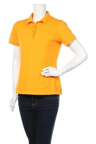 Дамска тениска Jobeline, Размер L, Цвят Жълт, 65% полиестер, 35% памук, Цена 4,73лв.