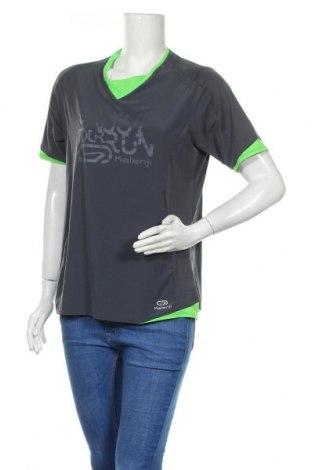 Дамска тениска Kalenji, Размер L, Цвят Сив, Цена 16,07лв.