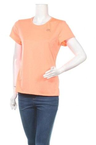 Дамска тениска Kalenji, Размер L, Цвят Оранжев, Цена 4,46лв.