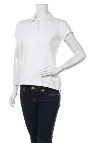 Дамска тениска Kariban, Размер L, Цвят Бял, Памук, Цена 21,00лв.