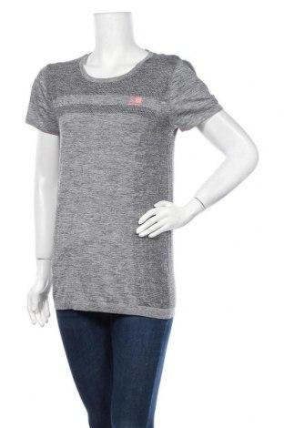 Дамска тениска Karrimor, Размер L, Цвят Сив, 59% полиамид, 41% полиестер, Цена 28,50лв.