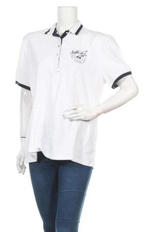 Дамска тениска Kitaro, Размер XL, Цвят Бял, Памук, Цена 8,03лв.
